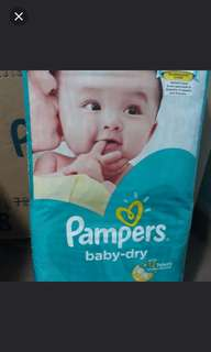 Pampers Size S Carton sales 4x58pc