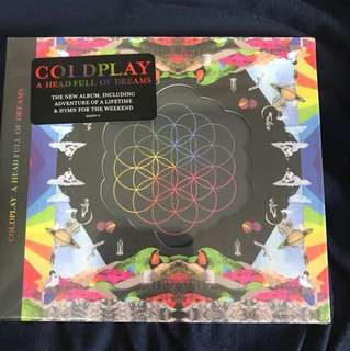 COLDPLAY A HEAD FULL OF DREAMS CD(BRAND NEW)