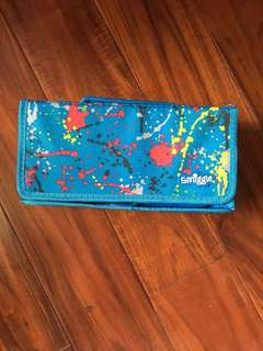 Authentic Smiggle Pencil Organizer Artist's Paint Color Blue