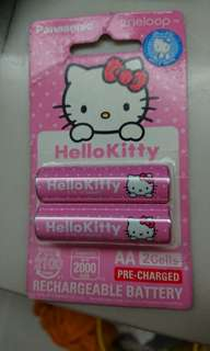 Panasonic 2A Hello Kitty rechargeable battery