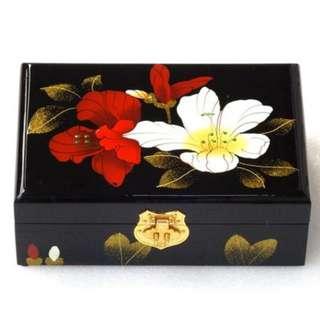 手推光漆器首飾盒