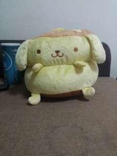 [Sanrio] Pompompurin Pancake Plush/Soft Toy