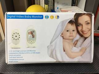 Brand new digital video baby monitor