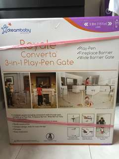 BRAND NEW 3-in-1 Playpen Gate with FREE mystery gift!!!