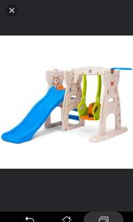 Grow & Up Scramble & Slide Play Centre