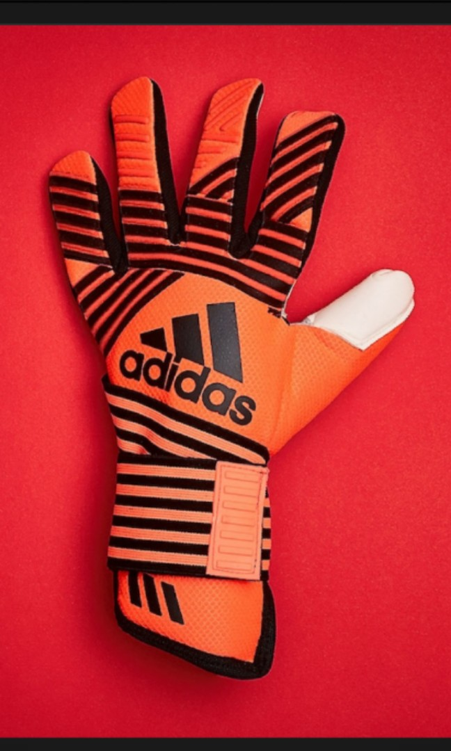 sports shoes 223f5 46775 Adidas Ace Transition Pro Goalkeeper Gloves Solar Green Core ...