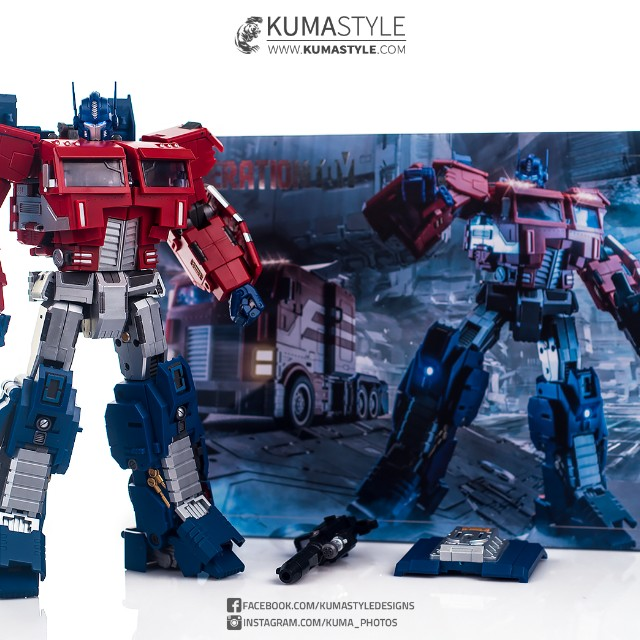 P EX Transformers GT-03 Action Figure New Generation Toy IDW Optimus Prime O