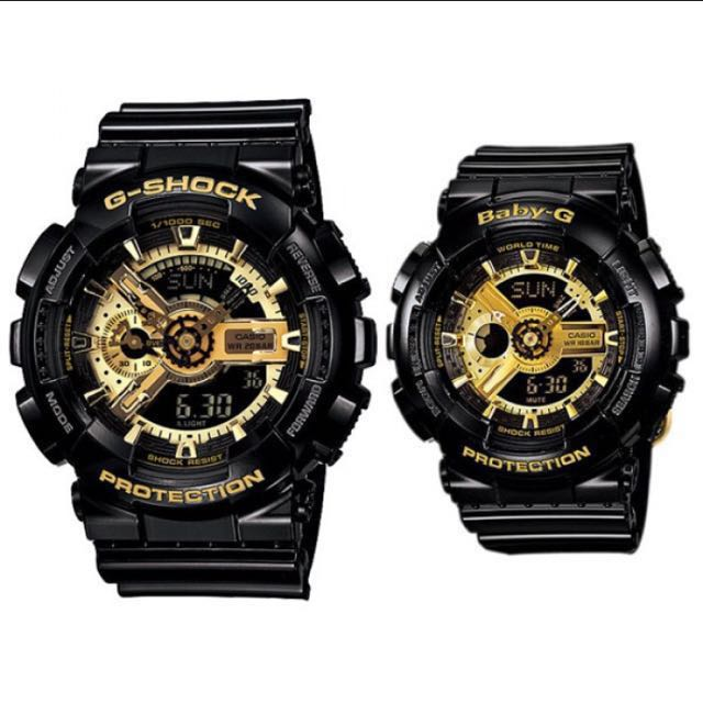 2d26e6265da4 Authentic Brand New Casio Couple Watch G-Shock And Baby G BA-110-1A ...