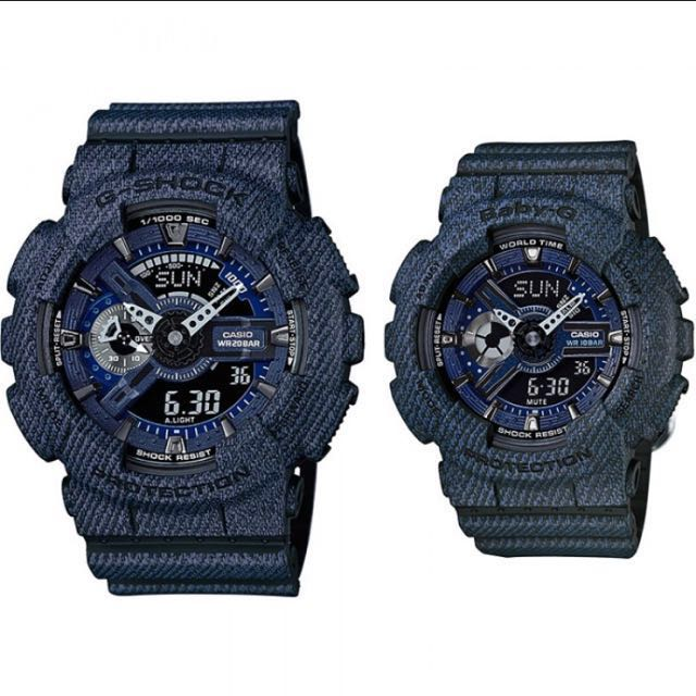 51802ff41deaa Authentic Brand New Casio G-Shock And Baby-G GA-110DC-1A BA-110DC ...