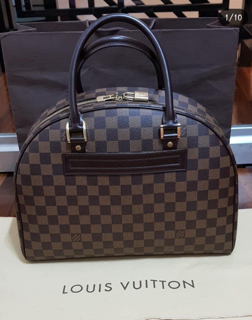 07d7c3ce7abbc Clearance sale!!! Authentic preloved LV Nolita MM Damier Ebene, Luxury, Bags  & Wallets on Carousell