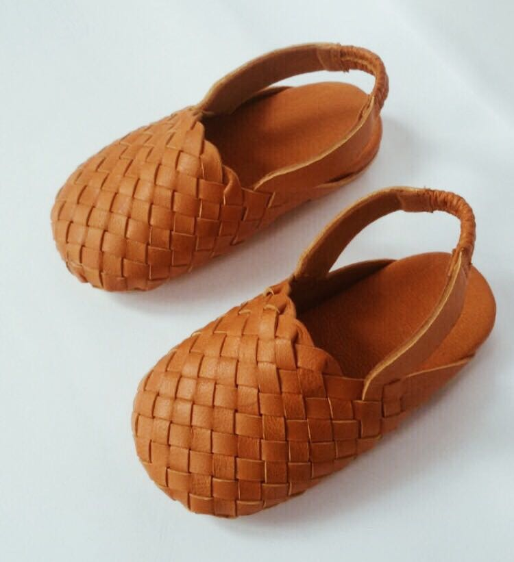 c53a26fc6 BABY GIRL] Woven Leather Shoes | Loafers Moccasins Slippers ...
