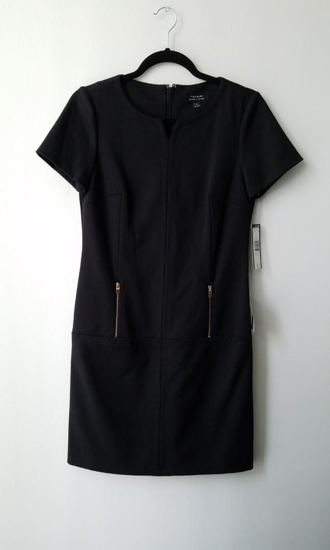 Black Tahari Dress by Arthur S Levine