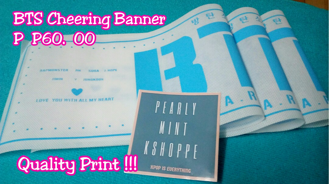 Where To Print Kpop Banners - Best Banner Design 2018