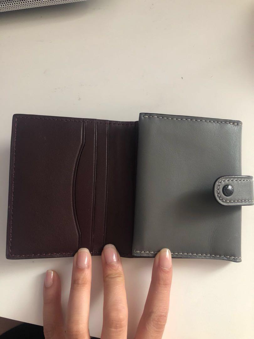 Coach compact wallet