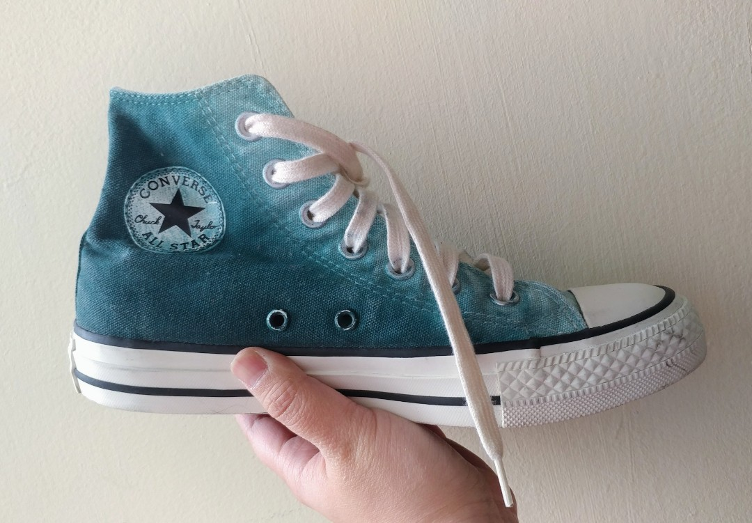 Converse Washed-out Teal High Cut