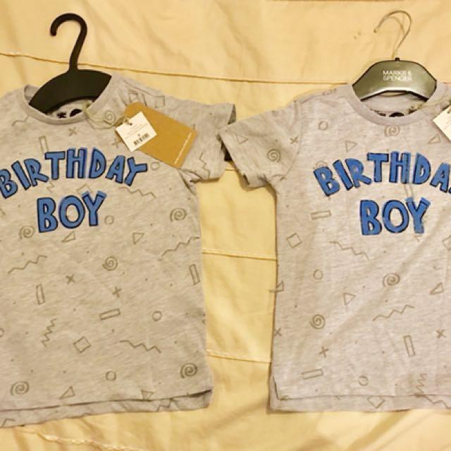 Cotton On Kid Birthday Boy Tee Babies Kids Boys Apparel