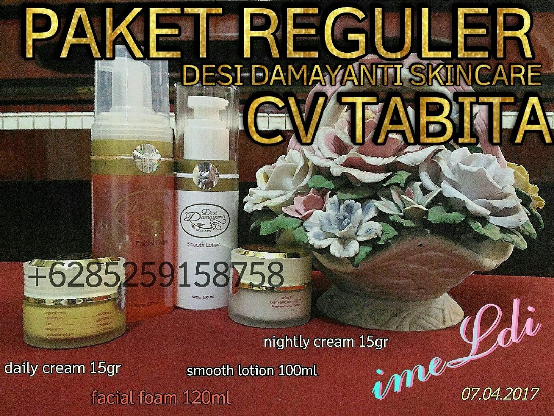 Desi Damayanti Skincare / Tabita Dulunya, Paket Reguler, Health & Beauty on Carousell