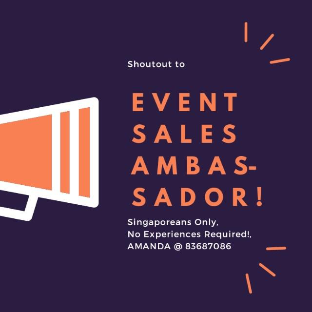 Events Sales Ambassador Jobs Internships Others On Carousell