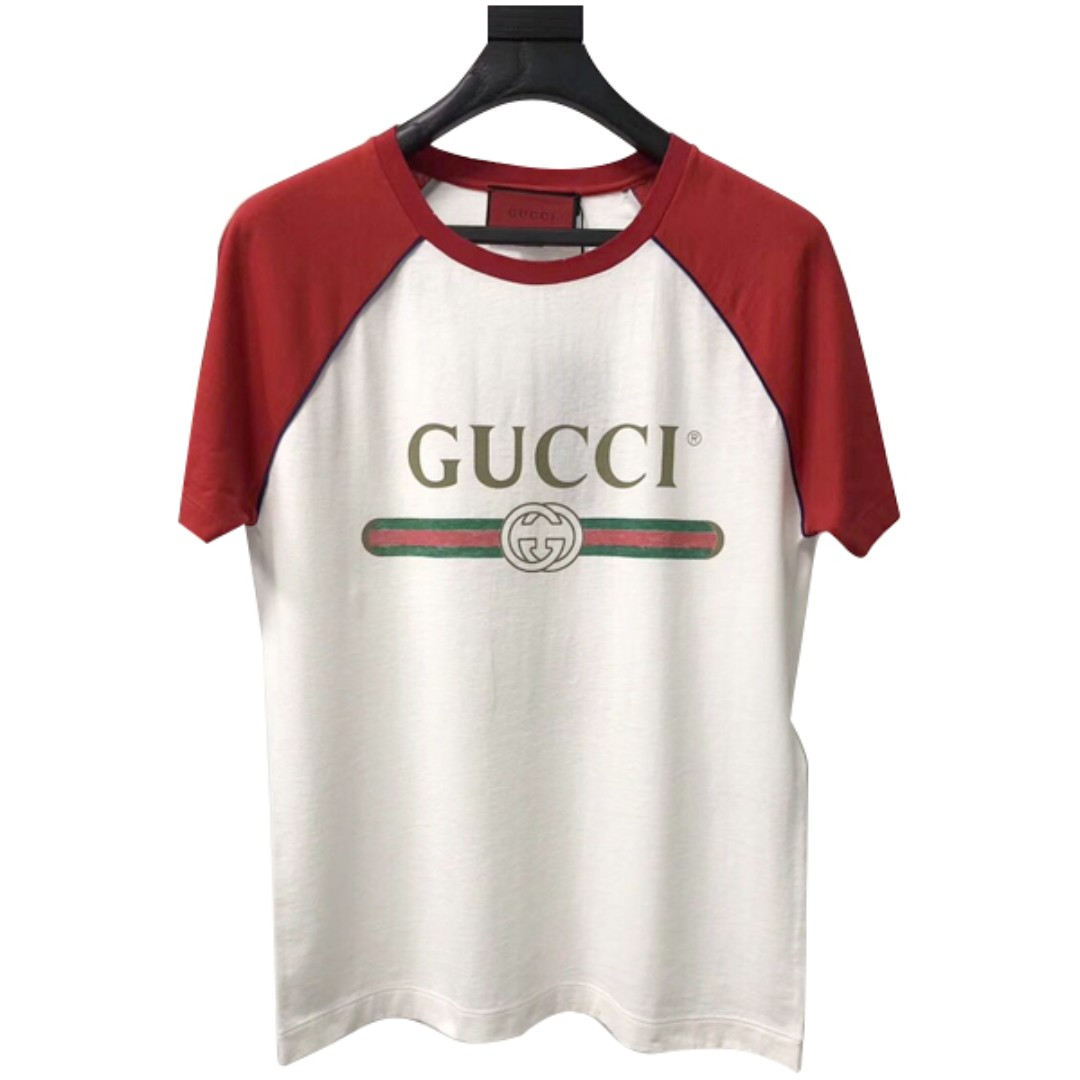 b7462256a2c Gucci Guccification Blind for Love Red T-shirt