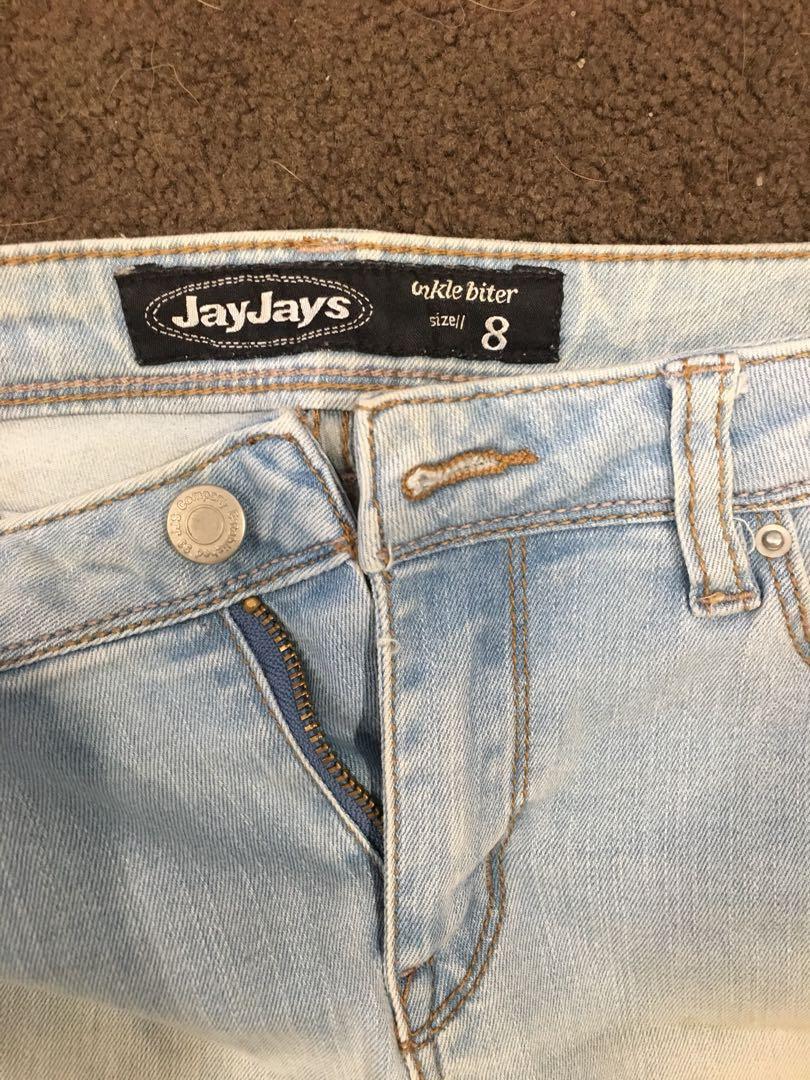 jay-jays blue skinny jeans