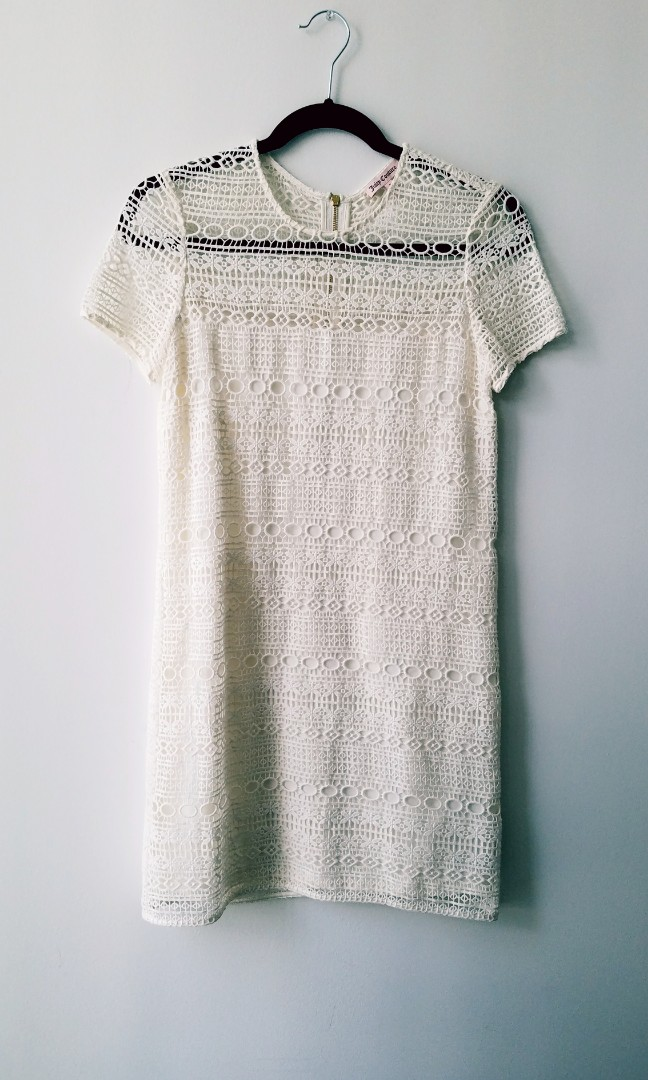 Juicy Couture Lace Cream (Size S)