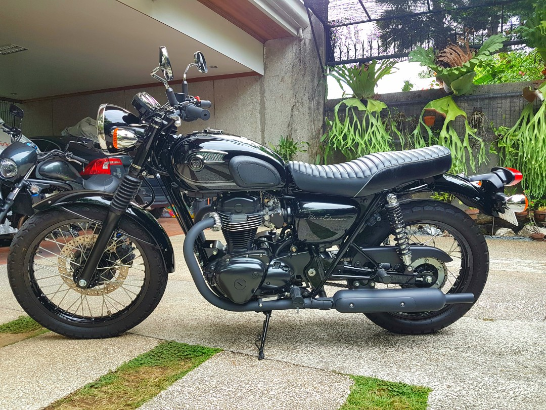 Kawasaki W800 BlackEdition 2017 Motorbikes On Carousell