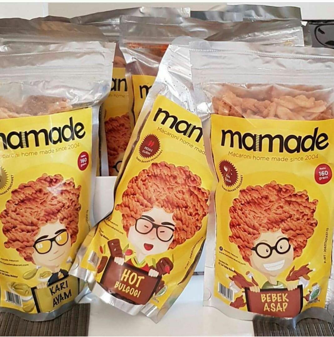 Mamade Makaroni Xtremee Hot - Cemilan - 160gr - Paket 3 pcsIDR54000. Rp 58.000.