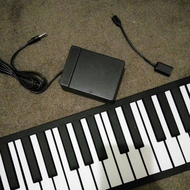 88 Keys Mini Roll Up Piano