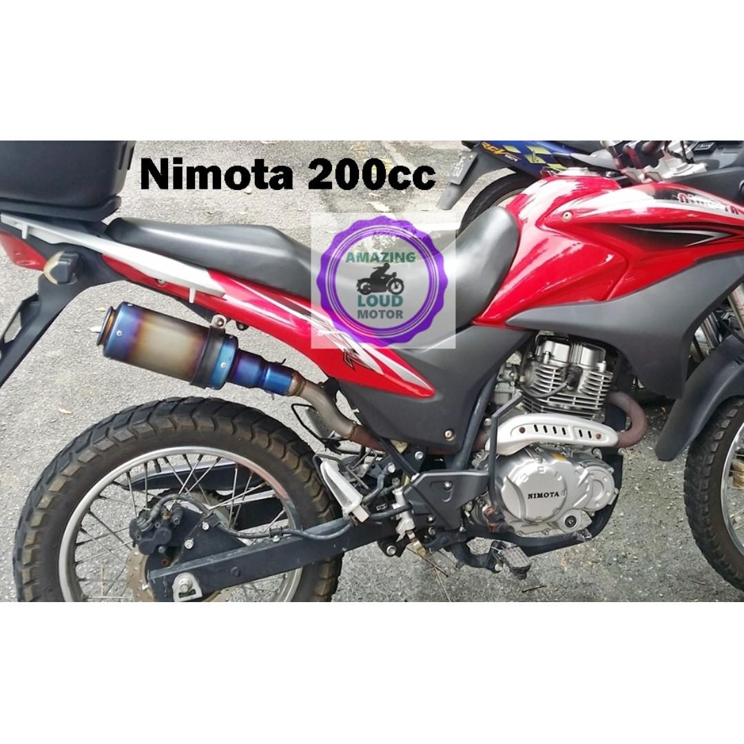 Motorcycle Muffler Akrapovic Exhaust, Car Parts