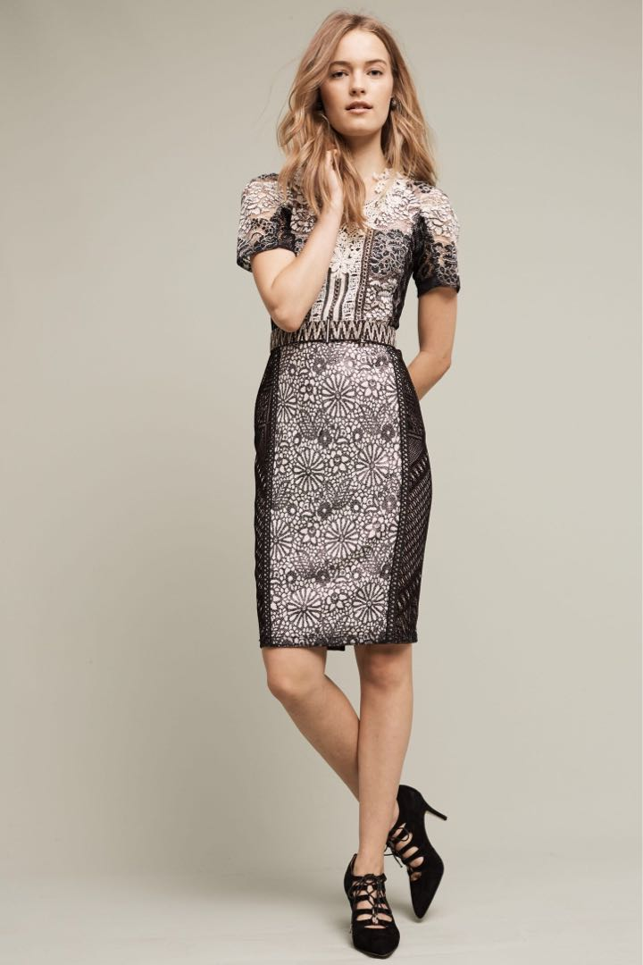 1a883c3bf38c NEW with tags, ANTHROPOLOGIE Byron Lars Lace Melange dress, Women's ...