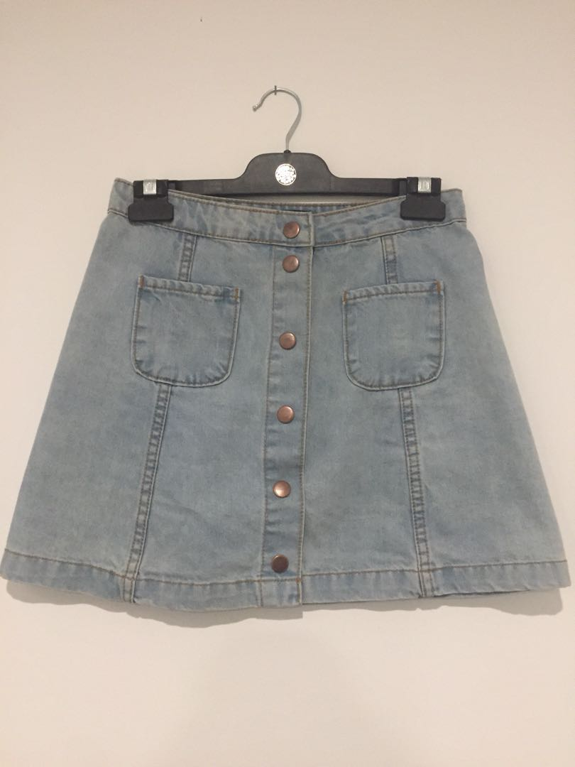 Nunui denim skirt