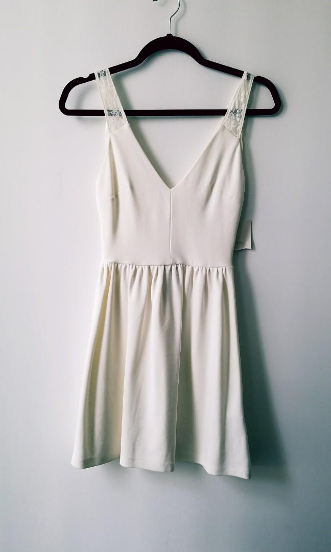 NWT Zara S Cream Dress