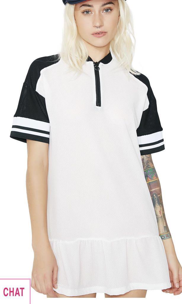 OKAYLA Half Zip Dress DOLLSKILL