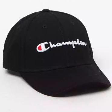 e417448c68f Original Champion Logo Baseball Cap Black