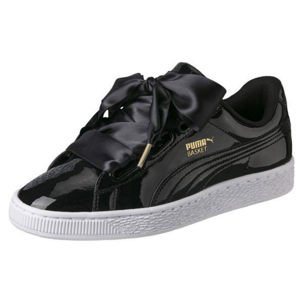 Puma Basket Heart Bows Sneakers