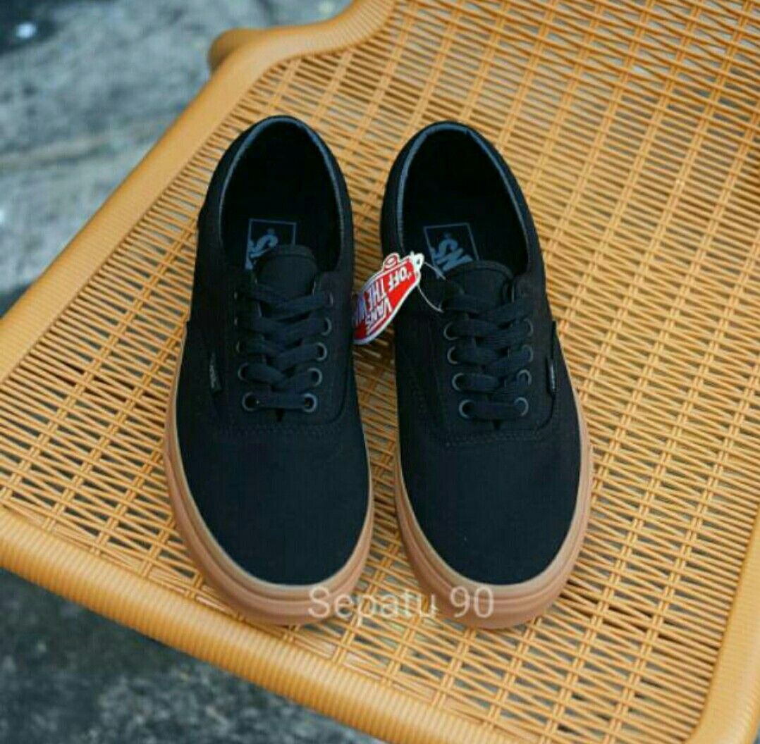 f3820dd281c SEPATU VANS CALIFORNIA HITAM GUM WAFFLE DT CHINA PREMIUM AUTHENTIC ...