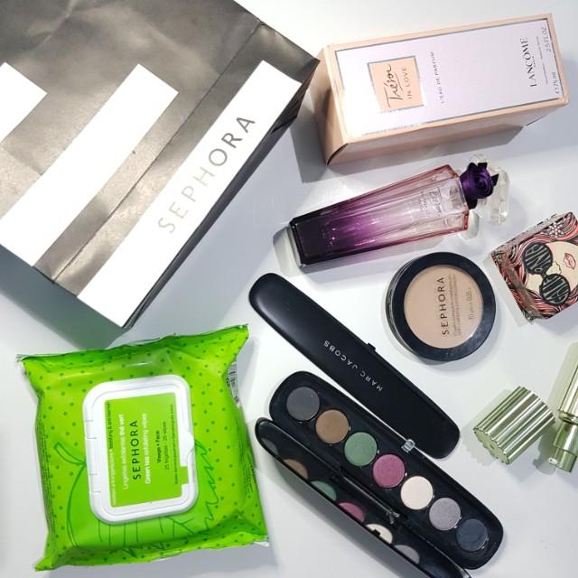 Sephora makeup remover tissue