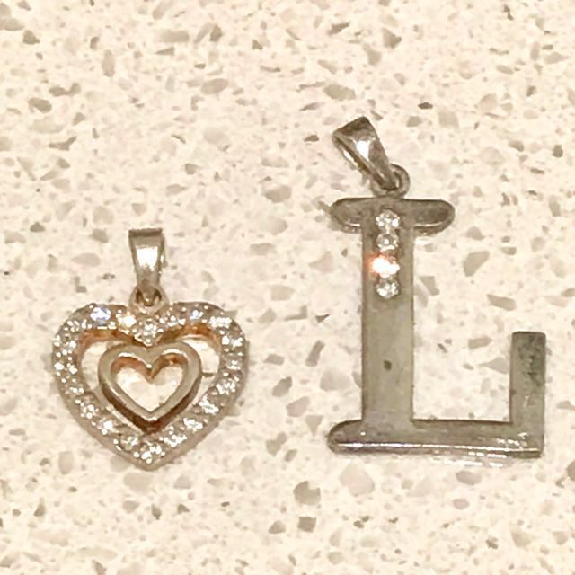 Sterling silver charms (925) 🌸