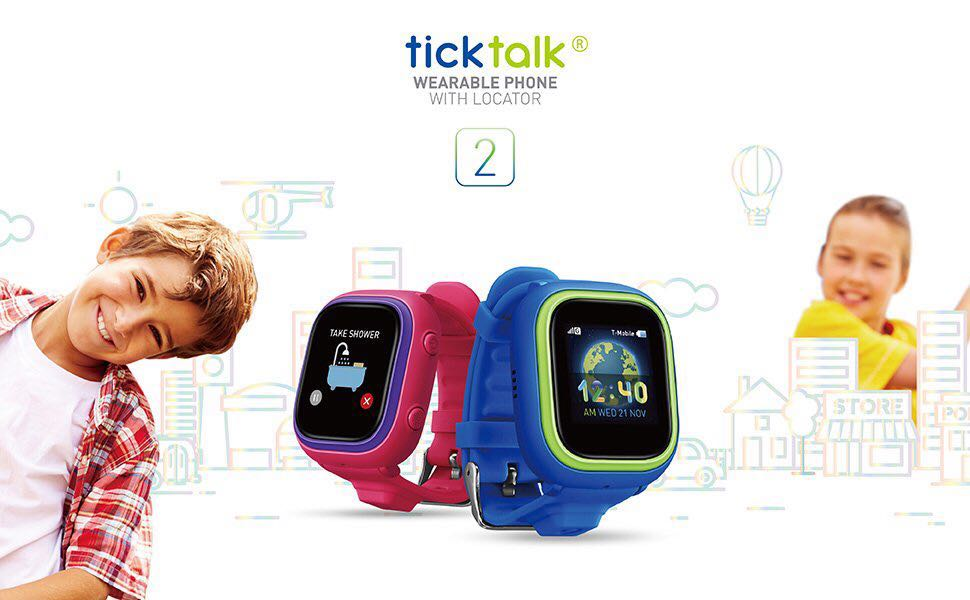 TickTalk Smartwatch for Kids with live GPS locator on Carousell