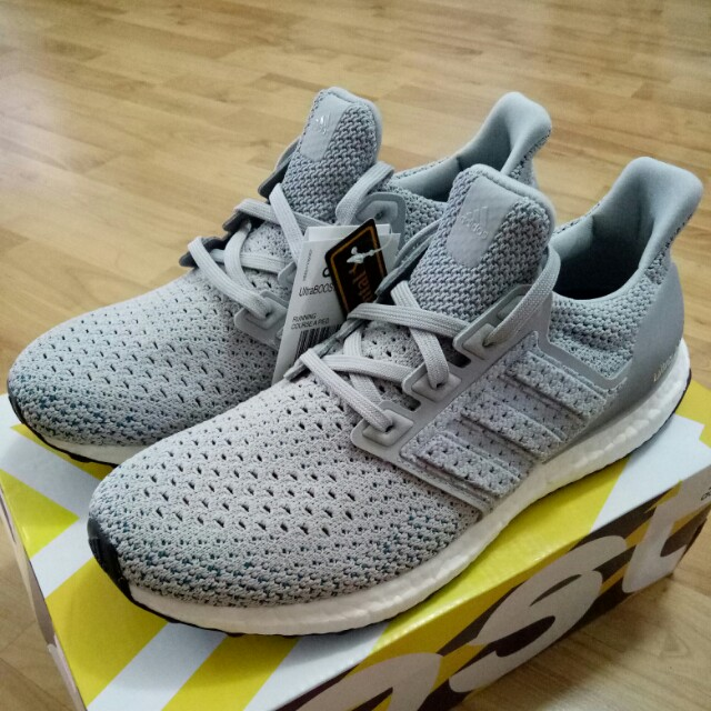 aa480c08bdf 🔥UK8🔥 Adidas Ultra Boost Ultraboost Clima Grey Limited Edition ...
