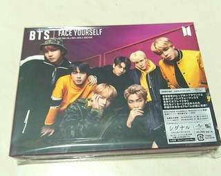 BTS [FACE YOURSELF] version B