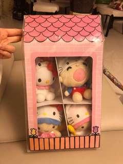 Sanrio 特別版公仔 (melody,twins star,大口仔,hello kitty)