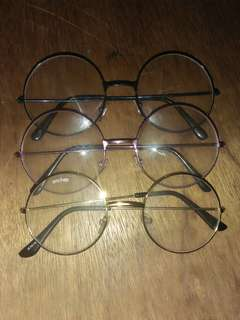 Round Eyeglasses (3 Colors)
