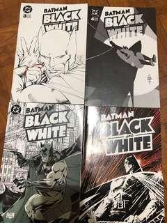 Batman Black and White 1-4 1996