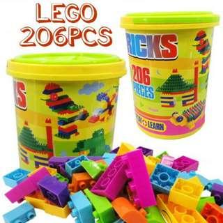 Lego 206 pcs