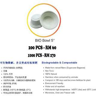 Go Green Biodegradable & Compostable 环保碗