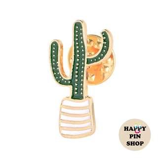 [IN STOCK] 🌵Skinny Cactus Plant Enamel Pin [CA03]