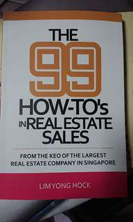 The 99 how-to's in Real Estate Sales