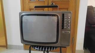 National樂聲牌懷舊電視機