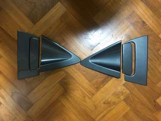 Honda Vezel rear carbon protector